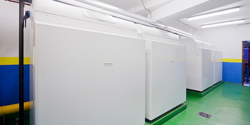 sala de calderas realizada por Remica