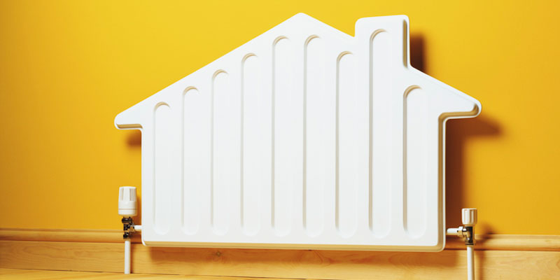 radiador calefacción central