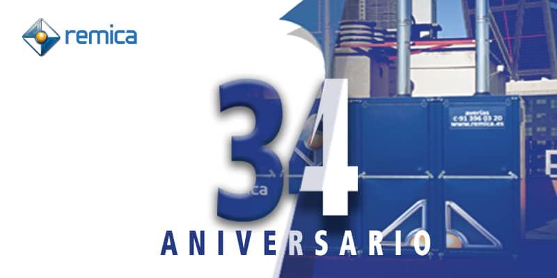 Remica 34 aniversario