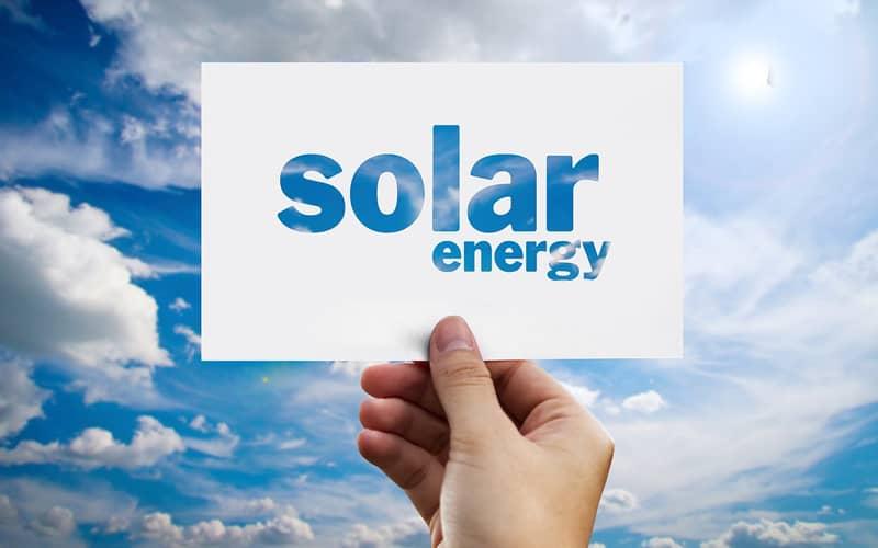 agua caliente con energía solar