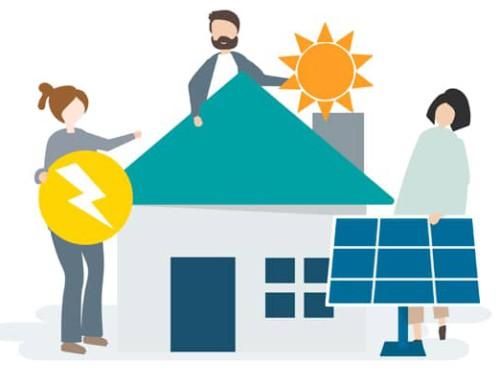 Instalación solar fotovoltaica para viviendas unifamiliares y comunitarias: mitos y verdades