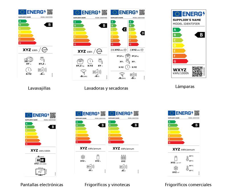 Nuevas etiquetas de eficiencia energética, obligatorias a partir del 1 de marzo de 2021