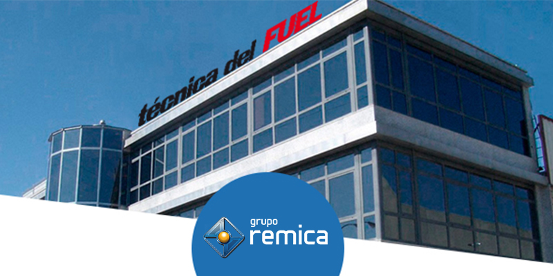 Sede de técnicas del fuel. Grupo Remica
