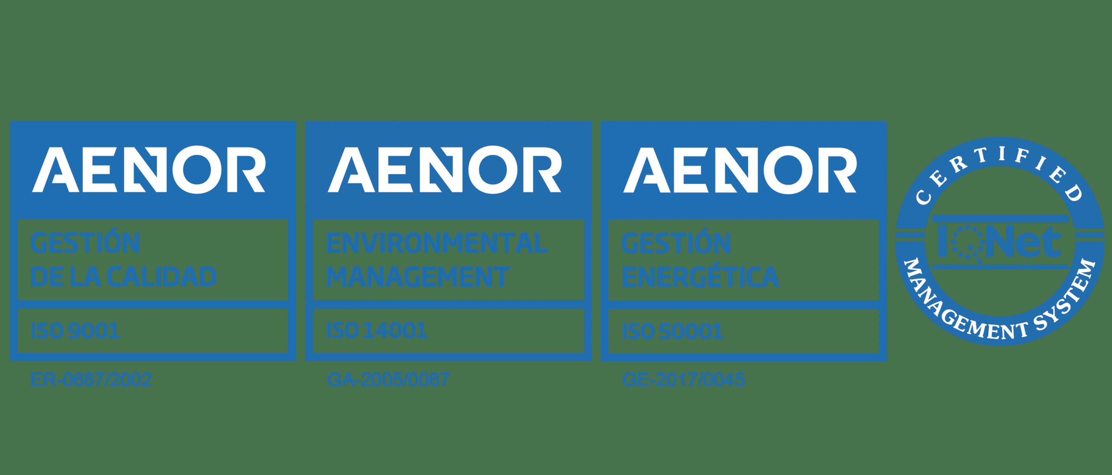 Sellos AENOR Remica